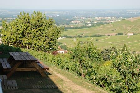 Grand gite dans le vignoble du Beaujolais - Vaux-en-Beaujolais