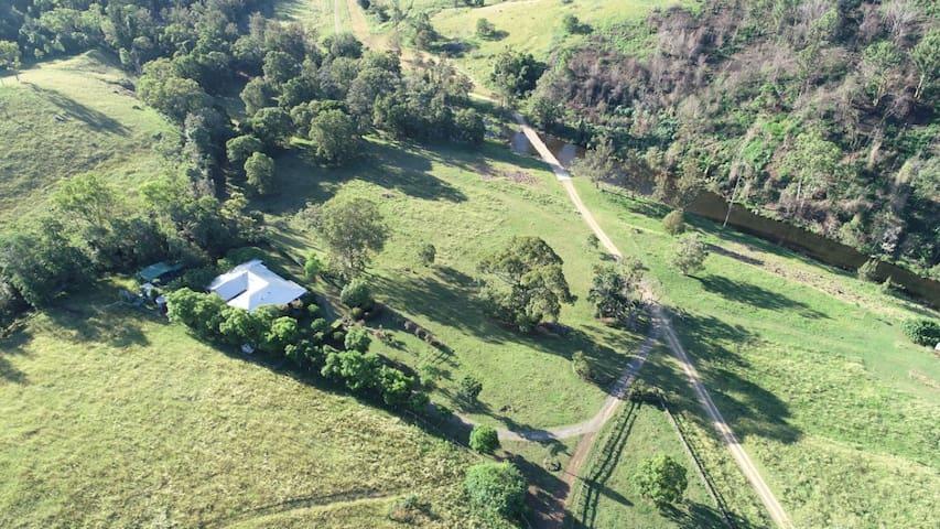Private property homestead on pristine creek