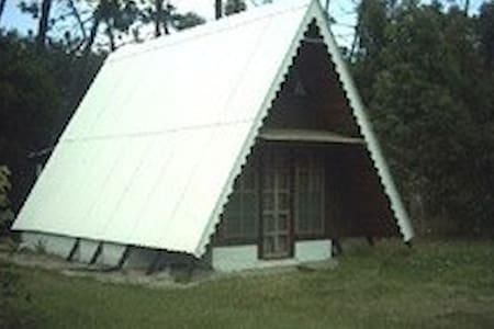 Coqueta cabaña de madera. 500mts terreno arbolado. - La Floresta