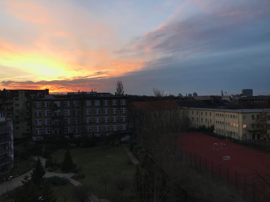 Berlin sunsets