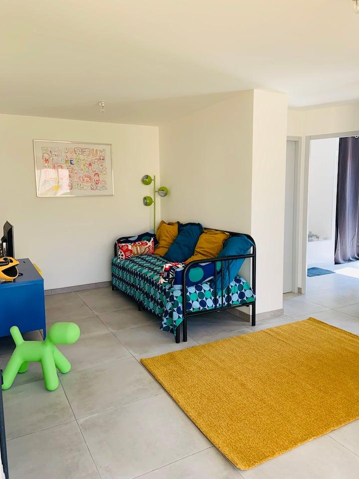 Appartement neuf proche THUIR, mer et Espagne