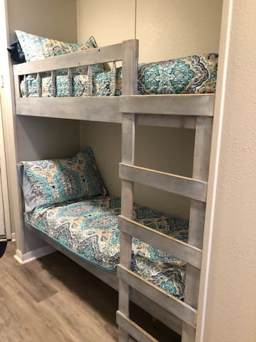 Bunk beds for the kiddos