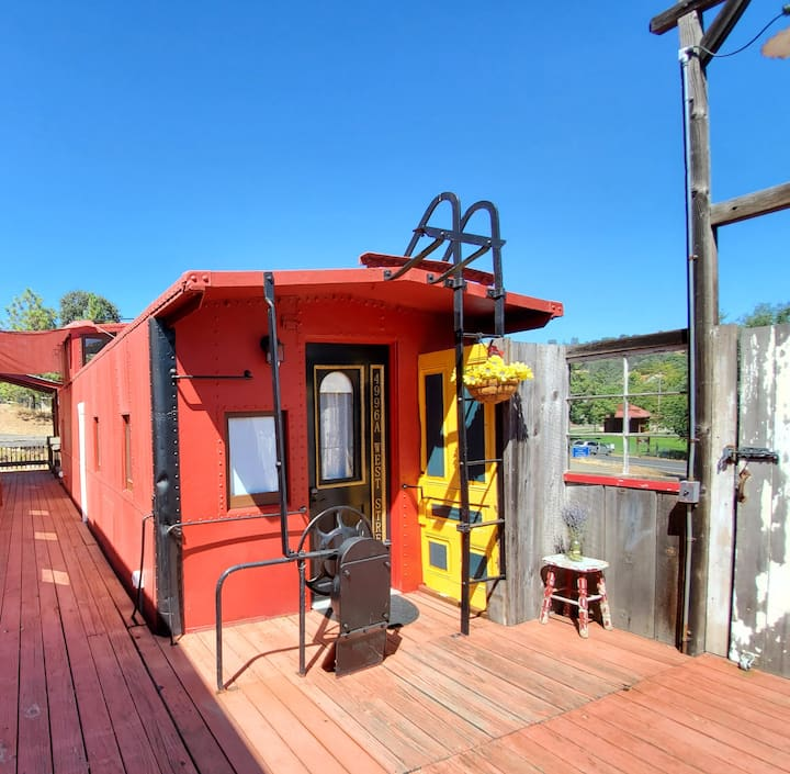 The Vacation Station: Caboose