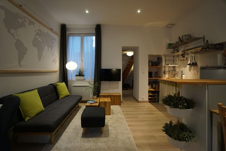 Nice flat in the city centre of Vernon