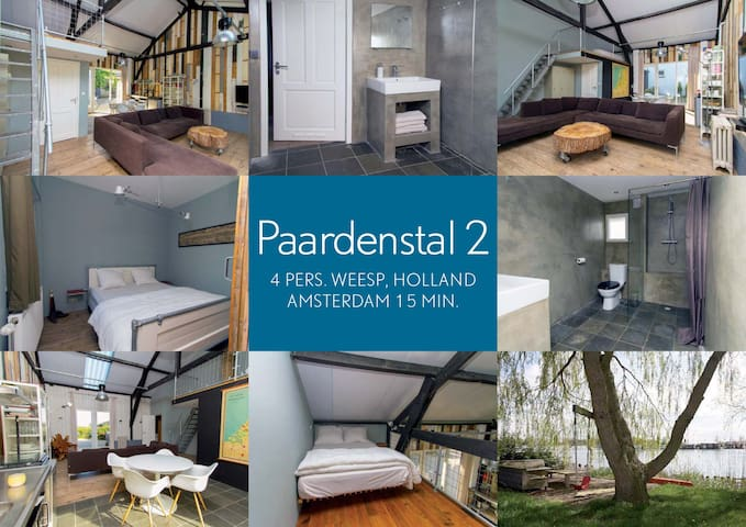 Paardenstal 2 (Complete House, Free Parking, WiFi)