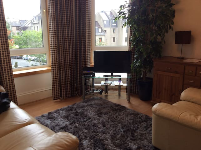 Roomy 2 bedroom city centre flat - Aberdeen - Apartamento