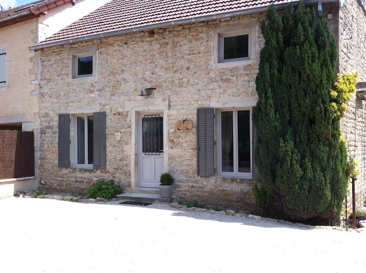 Charmante maison de village,joliment restaurée.