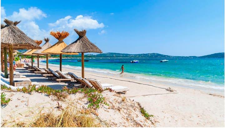 Mini-villa cosy avec jardin et plage à pied (500m)