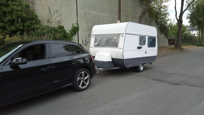 Gemütlicher Wohnwagen (Führerschein b reicht :)