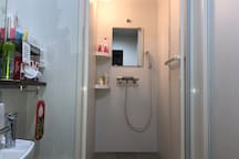 Shower room for guests only