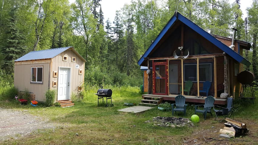 Cabin and Tiny Home - Talkeetna - Rumah