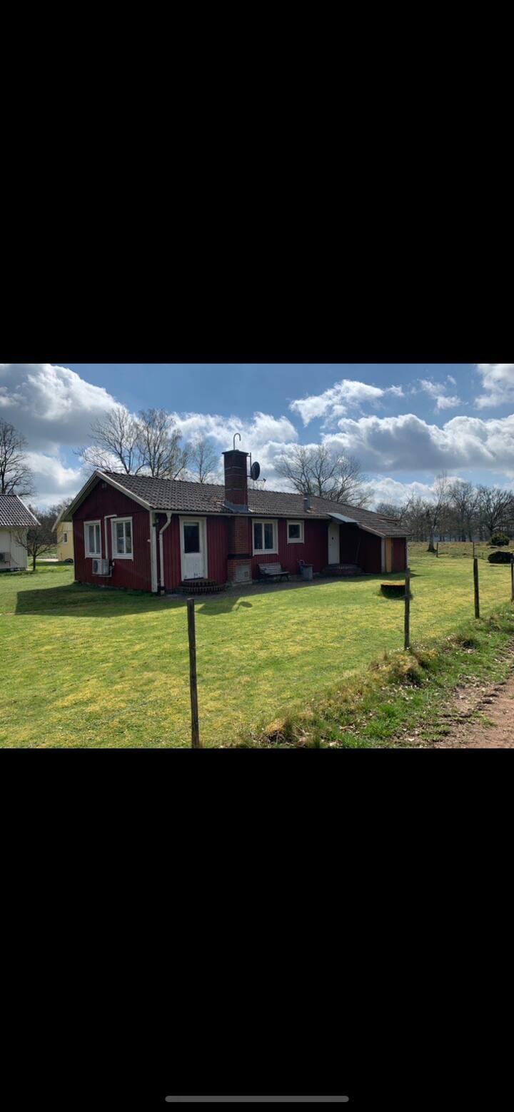 Hus i naturskönt område nära Isaberg