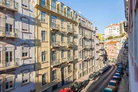 Bed at Lisbon Graça 2