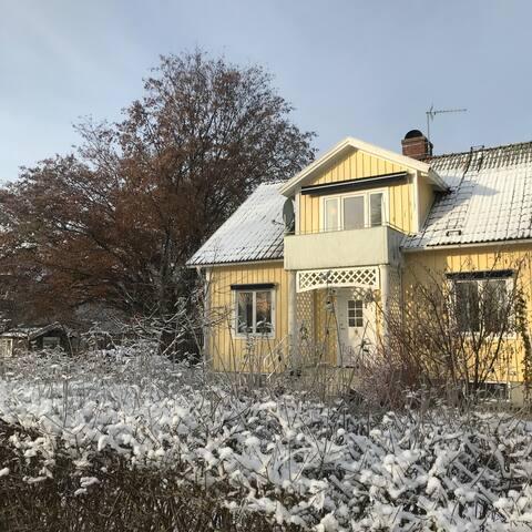 Idyllic house close to lake in peaceful Odensjö