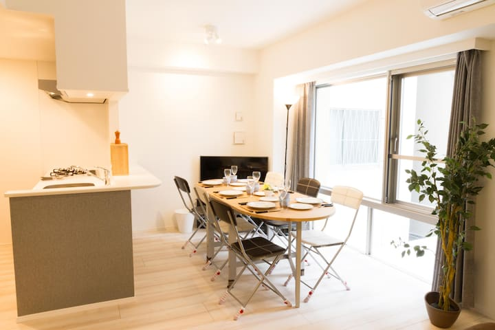 Asakusa New Apt For Family & Grp e3 - Taito - Apartment