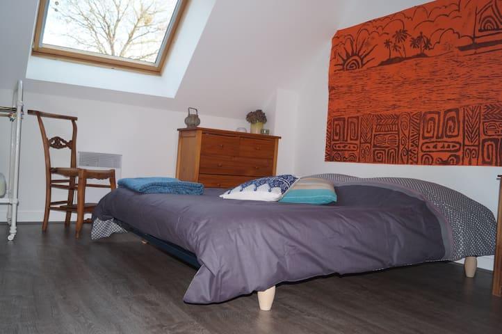 Private bedroom. Quiet neighborhood - Lannion - Bed & Breakfast
