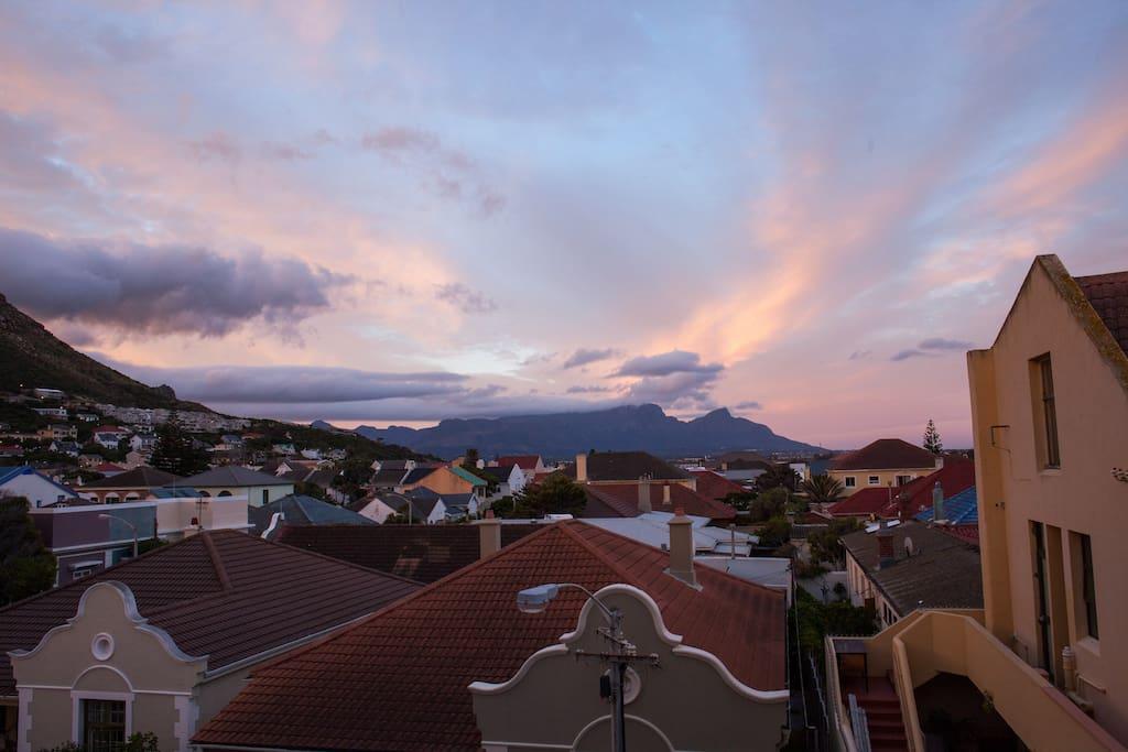 Evening views