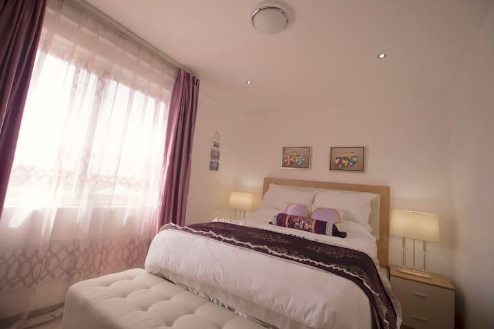 Royal purple room