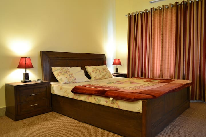 Deluxe Double Room with shared lobby