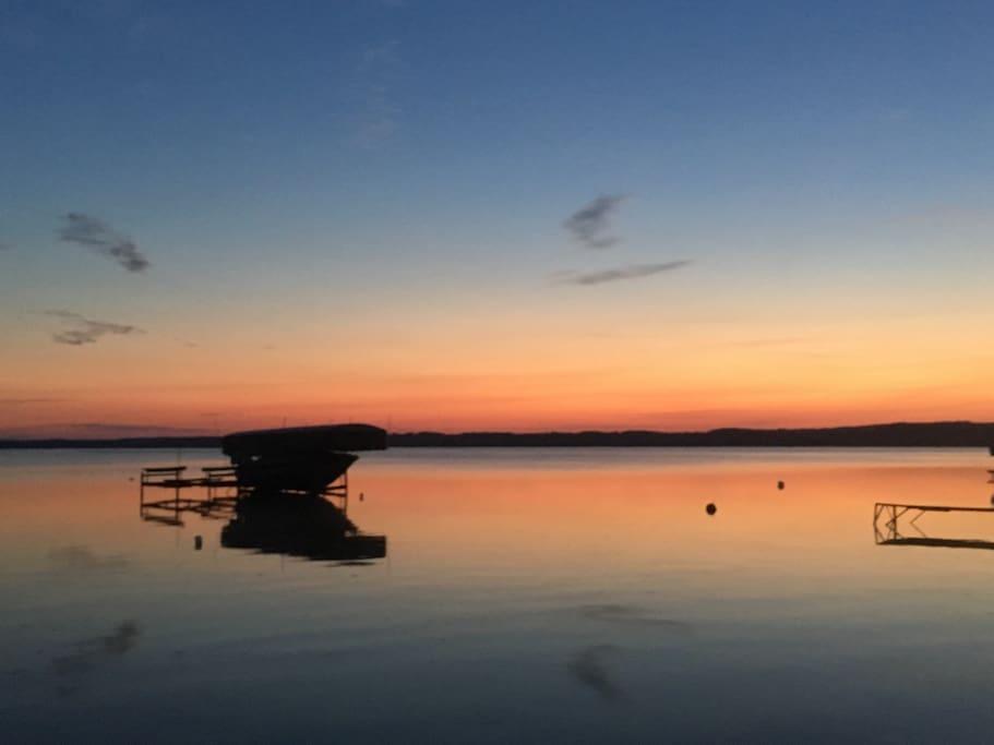 Just as beautiful sunrises