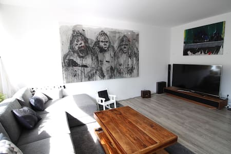 ✿ Modern family apartment ✿ 5 min walk to Alster - Hamburg - Byt