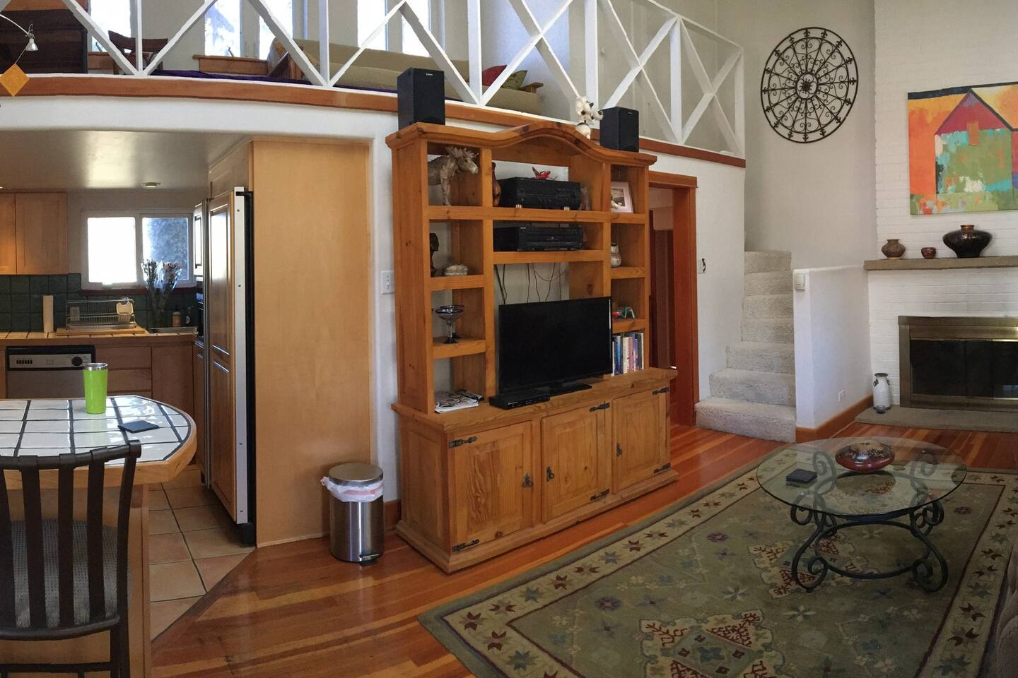 Panorama of the main room living space