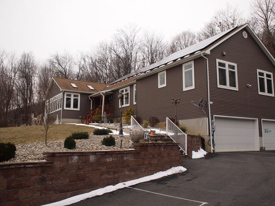 Winter-Our home situated on 3 Acres