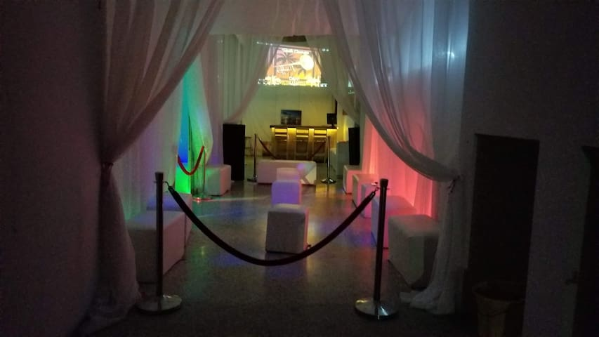 VIP Lounge Party space