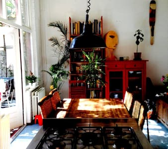 Apartment with Loft Feel in Central Amsterdam - Amsterdam - Daire