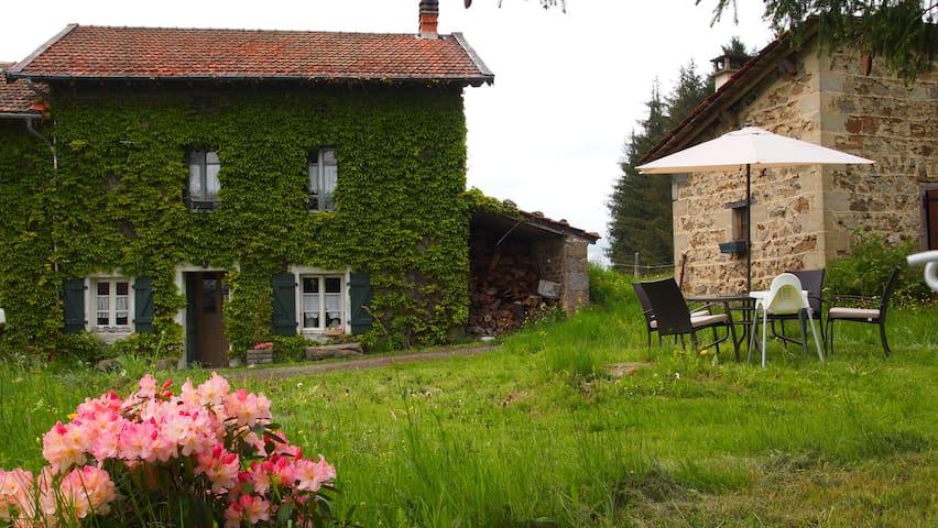 La Petite Maison dans la prairie - Bertignat - Домик на природе