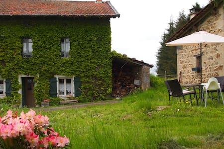 La Petite Maison dans la prairie - Bertignat - Rumah tumpangan alam semula jadi