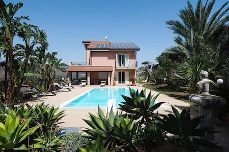Villa with Pool at 2 km from the beach & Taormina - Chianchitta