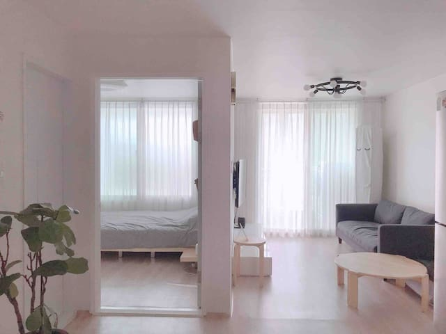 minimal house,cozy,clean in Tongyeong.루지케이블카근처