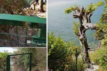 Acceso al acantilado (cliff access)
