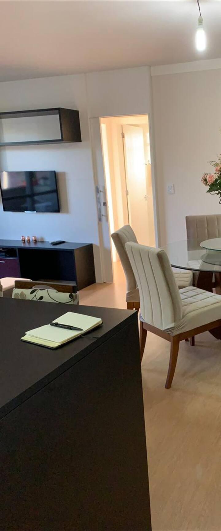 Apartamento tranquilo e aconchegante