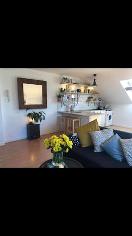 Funky Loft Apartment in Busy Village