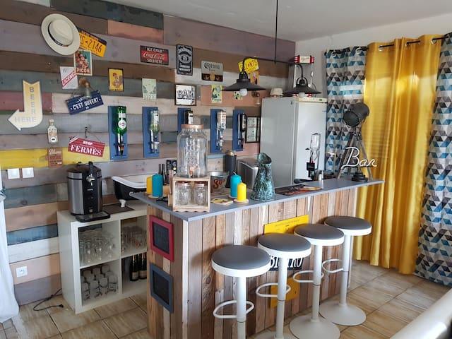 Chambre Cosy dans maison à 15km de Bordeaux