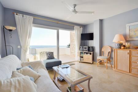 Fabulous flat incredible sea-views! - Roca Llisa, Ibiza