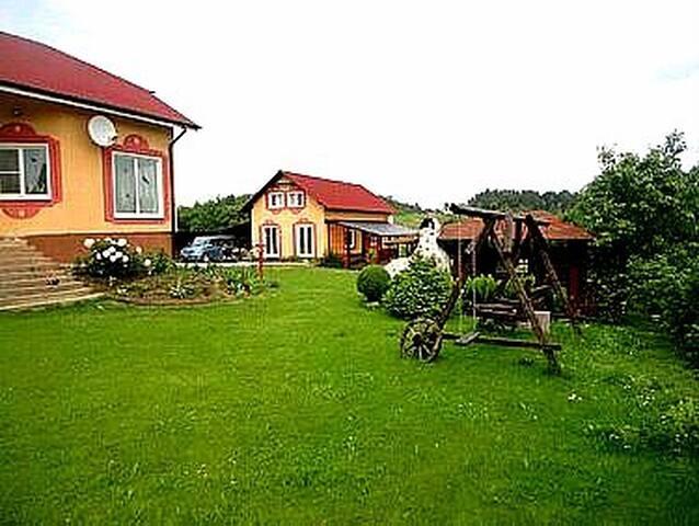 Гостевой дом и дом хозяев