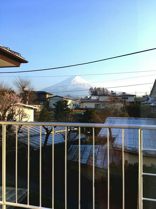 FUJI view from balcony