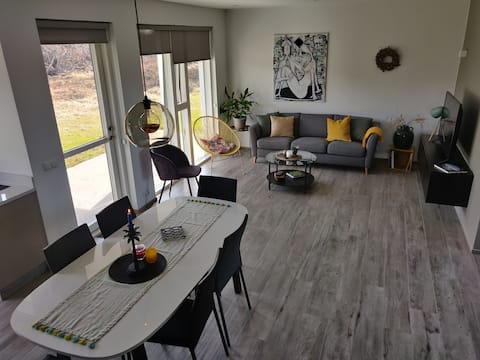 Mývatn apartments: Luxury in nature
