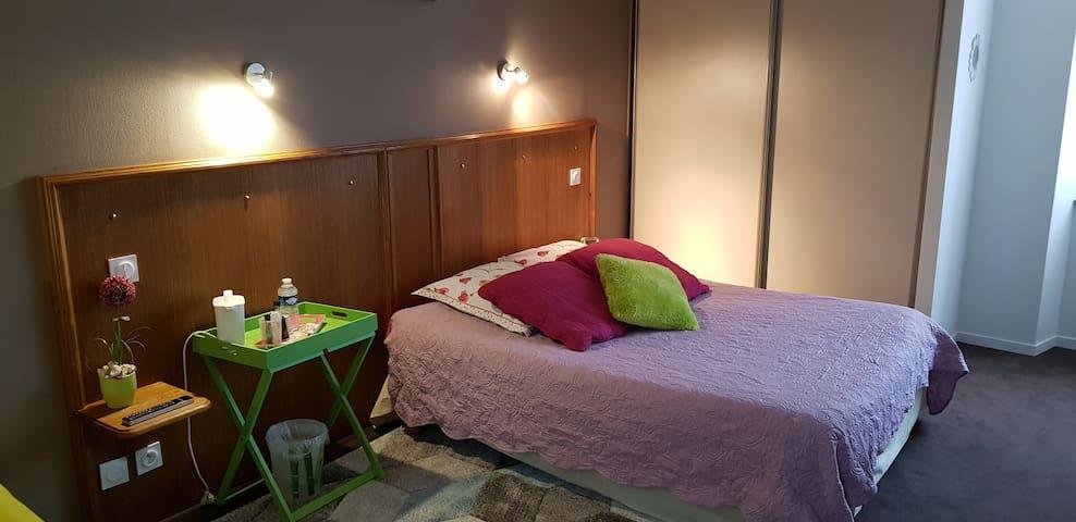 Hotel Au Bosquet Fleuri - Chambre Tilleul