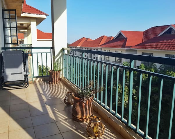 My Little Getaway [Furnished 2 Bedroom Apt] - Nairobi