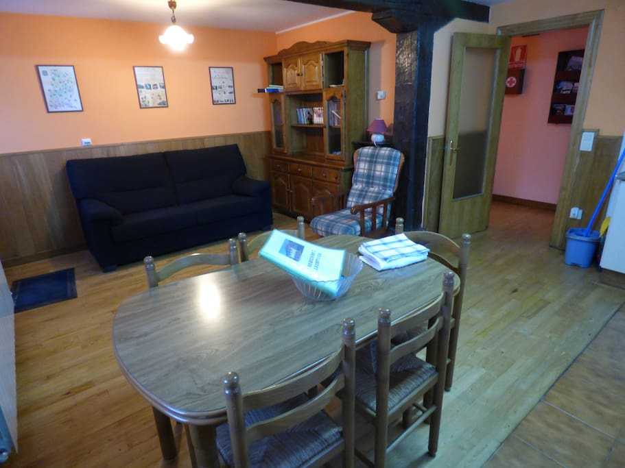Salón-comedor-cocina integrado