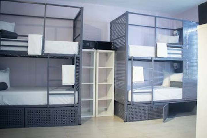 Rock Hostel (8 Bed Mixed Shared Dormitory)