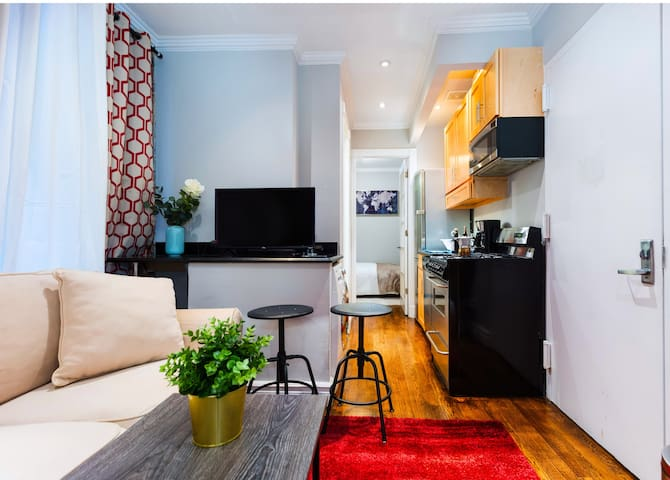 East Village 1 Br Apt ♡ with Washer/Dryer