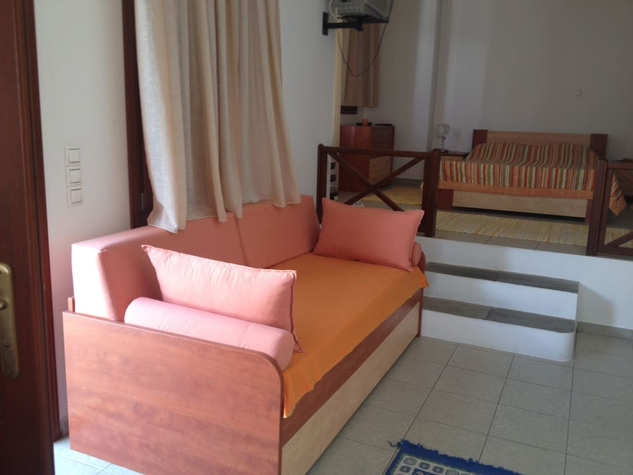 Bed and sofa-bed