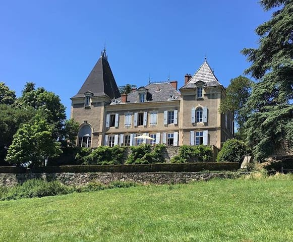 Petit château au milieu des vignes - Talencieux - Замок