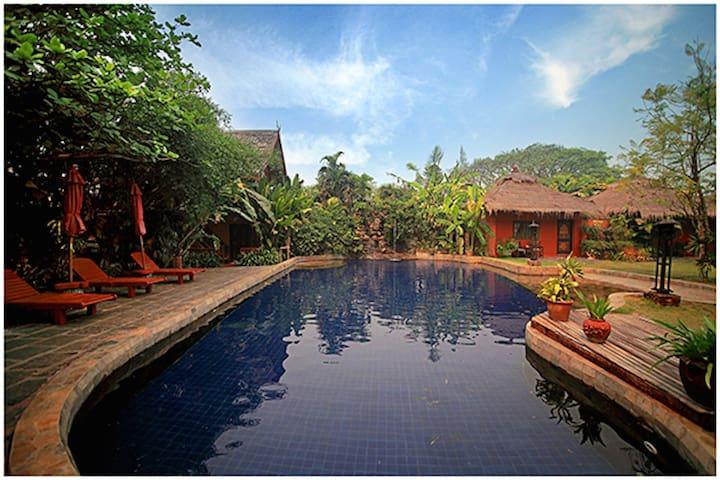 园景休闲独栋A - Tambon San Sai Noi - Boutique-hotel