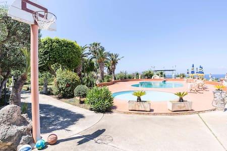 Appartamento Fausto in Villa con Piscina (N°1) - Santa Domenica - Apartmen